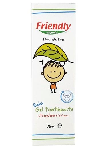 Bebek Jel Diş Macunu Çilek Aromalı-Friendly Organic